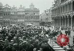 Image of Belgian civilians during Nazi occupation Brussels Belgium., 1940, second 50 stock footage video 65675072691