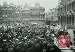 Image of Belgian civilians during Nazi occupation Brussels Belgium., 1940, second 51 stock footage video 65675072691