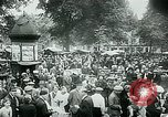Image of Belgian civilians during Nazi occupation Brussels Belgium., 1940, second 57 stock footage video 65675072691