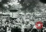 Image of Belgian civilians during Nazi occupation Brussels Belgium., 1940, second 58 stock footage video 65675072691