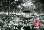 Image of Belgian civilians during Nazi occupation Brussels Belgium., 1940, second 60 stock footage video 65675072691