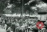 Image of Belgian civilians during Nazi occupation Brussels Belgium., 1940, second 62 stock footage video 65675072691