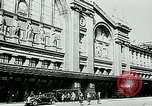 Image of Nazi train and German soldiers arrive at Paris train station Paris France, 1940, second 3 stock footage video 65675072692