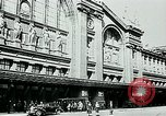 Image of Nazi train and German soldiers arrive at Paris train station Paris France, 1940, second 4 stock footage video 65675072692