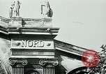 Image of Nazi train and German soldiers arrive at Paris train station Paris France, 1940, second 6 stock footage video 65675072692