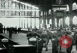 Image of Nazi train and German soldiers arrive at Paris train station Paris France, 1940, second 9 stock footage video 65675072692