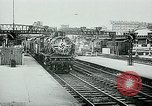 Image of Nazi train and German soldiers arrive at Paris train station Paris France, 1940, second 11 stock footage video 65675072692