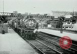 Image of Nazi train and German soldiers arrive at Paris train station Paris France, 1940, second 12 stock footage video 65675072692