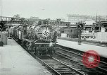 Image of Nazi train and German soldiers arrive at Paris train station Paris France, 1940, second 13 stock footage video 65675072692