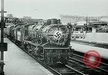 Image of Nazi train and German soldiers arrive at Paris train station Paris France, 1940, second 15 stock footage video 65675072692