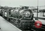 Image of Nazi train and German soldiers arrive at Paris train station Paris France, 1940, second 17 stock footage video 65675072692