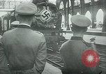 Image of Nazi train and German soldiers arrive at Paris train station Paris France, 1940, second 19 stock footage video 65675072692