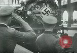 Image of Nazi train and German soldiers arrive at Paris train station Paris France, 1940, second 21 stock footage video 65675072692