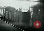 Image of Nazi train and German soldiers arrive at Paris train station Paris France, 1940, second 22 stock footage video 65675072692