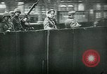 Image of Nazi train and German soldiers arrive at Paris train station Paris France, 1940, second 28 stock footage video 65675072692