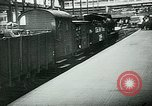 Image of Nazi train and German soldiers arrive at Paris train station Paris France, 1940, second 31 stock footage video 65675072692