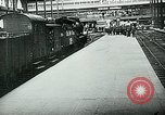 Image of Nazi train and German soldiers arrive at Paris train station Paris France, 1940, second 32 stock footage video 65675072692