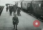 Image of Nazi train and German soldiers arrive at Paris train station Paris France, 1940, second 36 stock footage video 65675072692