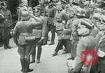 Image of Nazi train and German soldiers arrive at Paris train station Paris France, 1940, second 38 stock footage video 65675072692