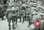 Image of Nazi train and German soldiers arrive at Paris train station Paris France, 1940, second 39 stock footage video 65675072692