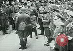 Image of Nazi train and German soldiers arrive at Paris train station Paris France, 1940, second 40 stock footage video 65675072692