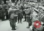 Image of Nazi train and German soldiers arrive at Paris train station Paris France, 1940, second 41 stock footage video 65675072692