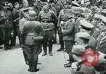 Image of Nazi train and German soldiers arrive at Paris train station Paris France, 1940, second 42 stock footage video 65675072692