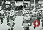Image of Nazi train and German soldiers arrive at Paris train station Paris France, 1940, second 43 stock footage video 65675072692
