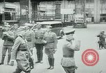 Image of Nazi train and German soldiers arrive at Paris train station Paris France, 1940, second 44 stock footage video 65675072692