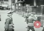 Image of Nazi train and German soldiers arrive at Paris train station Paris France, 1940, second 46 stock footage video 65675072692