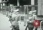 Image of Nazi train and German soldiers arrive at Paris train station Paris France, 1940, second 47 stock footage video 65675072692