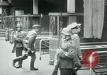 Image of Nazi train and German soldiers arrive at Paris train station Paris France, 1940, second 48 stock footage video 65675072692