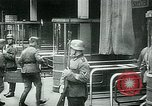 Image of Nazi train and German soldiers arrive at Paris train station Paris France, 1940, second 49 stock footage video 65675072692