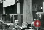 Image of Nazi train and German soldiers arrive at Paris train station Paris France, 1940, second 52 stock footage video 65675072692
