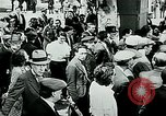Image of French civilians listen to German propaganda broadcast Paris France, 1940, second 8 stock footage video 65675072694