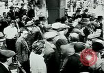 Image of French civilians listen to German propaganda broadcast Paris France, 1940, second 9 stock footage video 65675072694