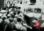 Image of French civilians listen to German propaganda broadcast Paris France, 1940, second 11 stock footage video 65675072694