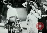 Image of French civilians listen to German propaganda broadcast Paris France, 1940, second 16 stock footage video 65675072694