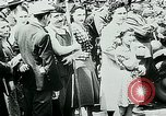 Image of French civilians listen to German propaganda broadcast Paris France, 1940, second 30 stock footage video 65675072694