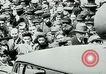 Image of French civilians listen to German propaganda broadcast Paris France, 1940, second 35 stock footage video 65675072694