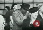 Image of French civilians listen to German propaganda broadcast Paris France, 1940, second 46 stock footage video 65675072694