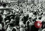 Image of French civilians listen to German propaganda broadcast Paris France, 1940, second 51 stock footage video 65675072694