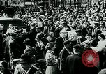 Image of French civilians listen to German propaganda broadcast Paris France, 1940, second 53 stock footage video 65675072694