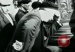 Image of French civilians listen to German propaganda broadcast Paris France, 1940, second 56 stock footage video 65675072694
