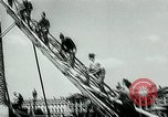 Image of French disassemble Paris defenses during German occupation Paris France, 1940, second 10 stock footage video 65675072695