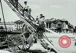 Image of French disassemble Paris defenses during German occupation Paris France, 1940, second 14 stock footage video 65675072695