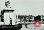Image of French disassemble Paris defenses during German occupation Paris France, 1940, second 29 stock footage video 65675072695