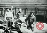 Image of French disassemble Paris defenses during German occupation Paris France, 1940, second 32 stock footage video 65675072695