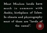 Image of Camels in Muslim lands of  Eurasia and Africa Middle East, 1936, second 48 stock footage video 65675072698