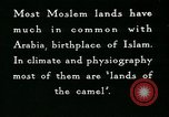 Image of Camels in Muslim lands of  Eurasia and Africa Middle East, 1936, second 51 stock footage video 65675072698